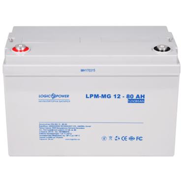 Аккумуляторная батарея LogicPower LPM-MG 12-80 Ah