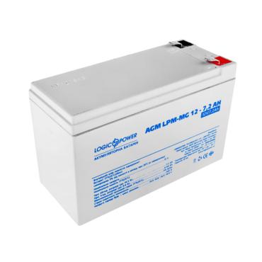 Аккумуляторная батарея LogicPower LPM-MG 12-7.2 Ah