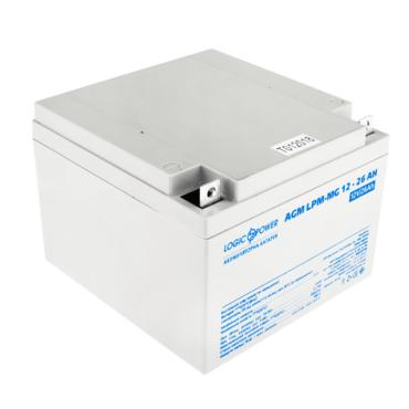 Аккумулятор LogicPower LPM-MG 12-26 Ah