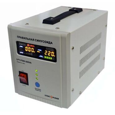 Бесперебойник LogicPower LPY-PSW-500VA: 300Вт, 12/220V