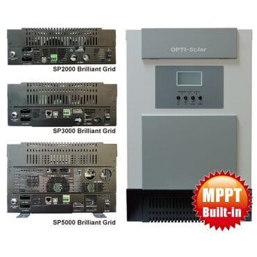 Гибридный инвертор Opti-Solar SP3000 Brilliant Grid