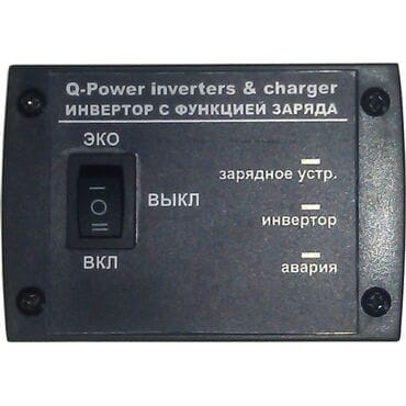 Бесперебойник Q-Power QPC+5024GE: 5000Вт, 24/220V