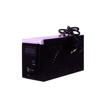 Бесперебойник Ritar RTSW-600 LCD: 360Вт, 12/220V