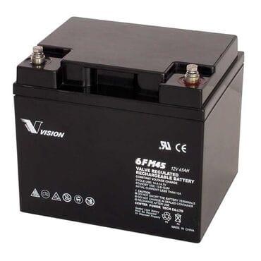Аккумуляторная батарея Vision 12V 45Ah