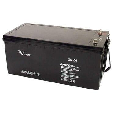 Аккумуляторная батарея Vision 6FM200P-X