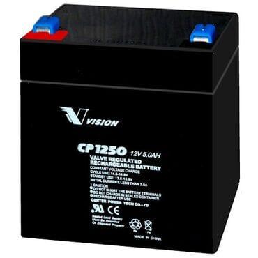 Аккумуляторная батарея Vision 12V 5Ah