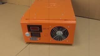 Краткий обзор внешнего вида модели ФОРТ FCX30 (12V и 24V) Orange