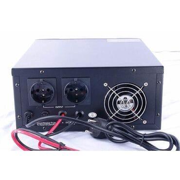 Бесперебойник Luxeon UPS-1000ZY: 600Вт, 12/220V