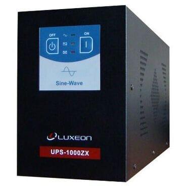 Бесперебойник Luxeon UPS-1000ZX: 600Вт, 12/220V