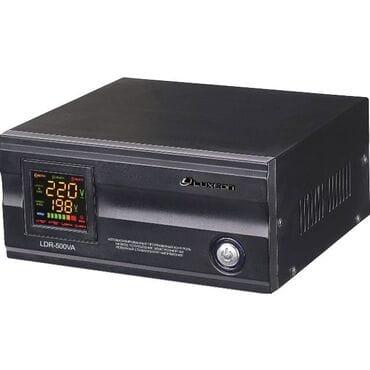Стабилизатор напряжения LUXEON LDR-500: 300Вт, 220V