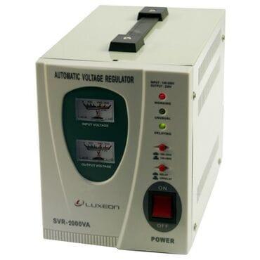 Стабилизатор напряжения LUXEON SVR-2000: 1400Вт, 220V