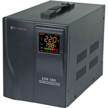 Стабилизатор напряжения LUXEON EDR-500: 300Вт, 220V