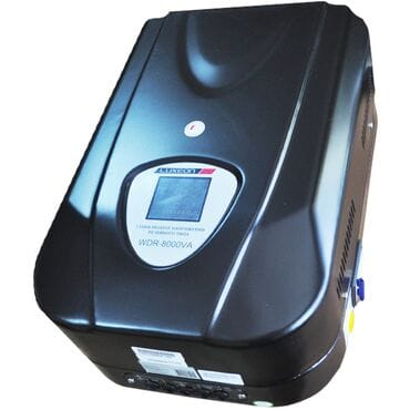 Стабилизатор напряжения LUXEON WDR-8000: 5600Вт, 220V