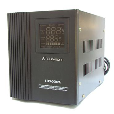 Стабилизатор напряжения LUXEON LDS-500: 300Вт, 220V