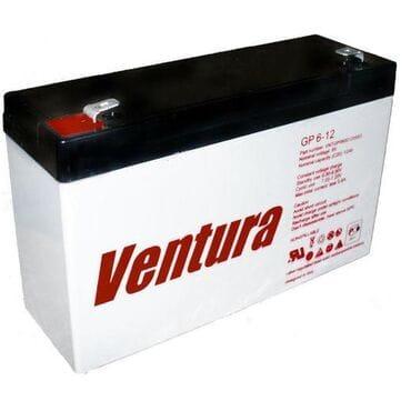 Аккумуляторная батарея VENTURA GP 6-12: 12Ah, 6V