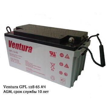 Аккумуляторная батарея Ventura GPL 12-65