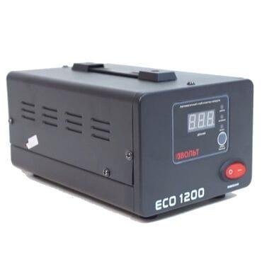 Стабилизатор напряжения Вольт ECO-1200: 1200Вт, 220V