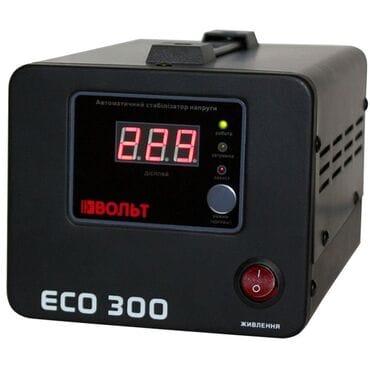 Стабилизатор напряжения Вольт ECO-300: 300Вт, 220V