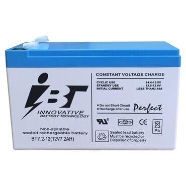 Аккумуляторная батарея IBT BT 7.2-12