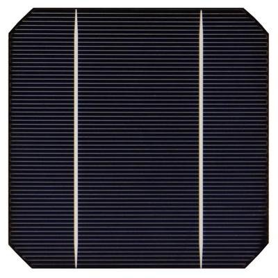 Монокристаллический элемент солнечной батареи – фото